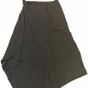 Banana Republic Tie Waist Asymmetrical Skirt - M